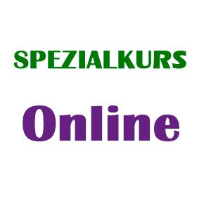 Spezialkurs (online)